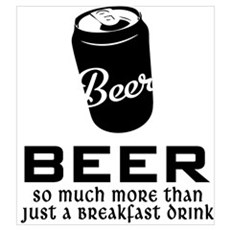 Breakfast Drink Poster