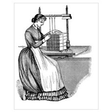 Sewing Frame Poster