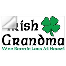 Irish Grandma Wall Decal