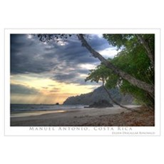 Costa Rica Beach Framed Print