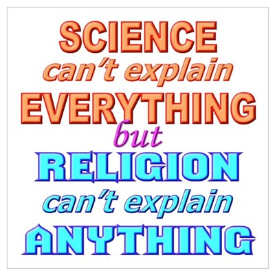 """""""Science can't explain..."""" Poster"""