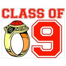Class Of 09 (Red Ring) Poster