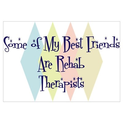 Rehab Therapists Friends Framed Print