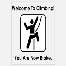 Welcome To Climbing! You Are