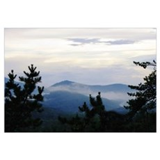 Smoke On Great Smoky Mountain Poster