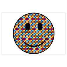 Autism Smiley Poster