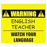 English teacher Posters