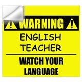 English teacher Wall Decals