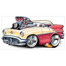 1956 Oldsmobile Poster