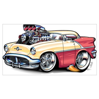 1956 Oldsmobile Canvas Art
