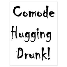 Comode Hugging Drunk Framed Print