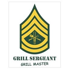 Grill Sgt. Poster