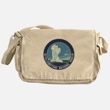 Yellowstone Travel Souvenir Messenger Bag
