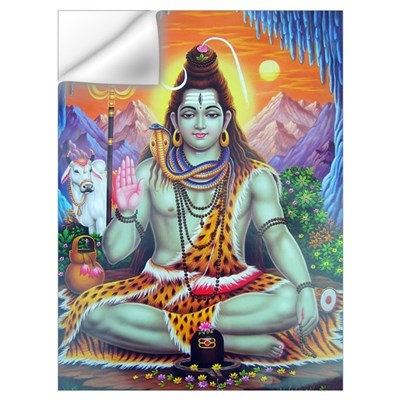 Shiv Ji Wall Decal