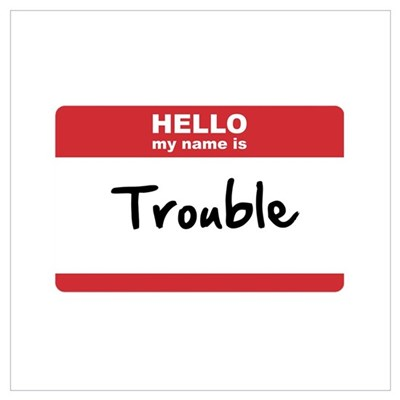 Hello My Name Is Trouble Poster