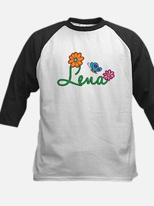 Lena Flowers Kids Baseball Jersey