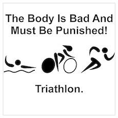 Triathlon Poster