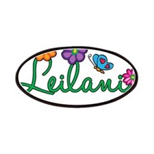Leilani Flowers Patches