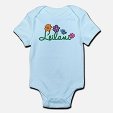 Leilani Flowers Infant Bodysuit