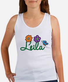 Leila Flowers Women's Tank Top