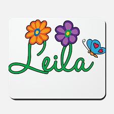 Leila Flowers Mousepad