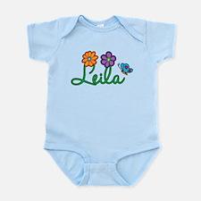 Leila Flowers Infant Bodysuit