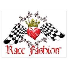 RaceFashion.com LOGO Poster