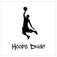 Hoops Dude Poster