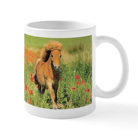 Mini Shetland Pony Horse Lover Coffee Mug