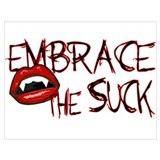 Embrace the suck Wrapped Canvas Art
