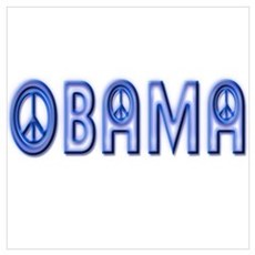 Obama Wants Peace Poster