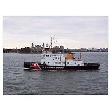 NY Harbor Poster