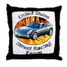 Pontiac Solstice Throw Pillow