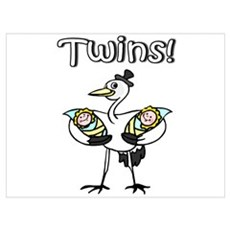 Twins! Poster