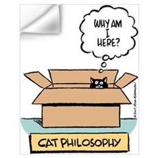Cat Philosophy Wall Decal