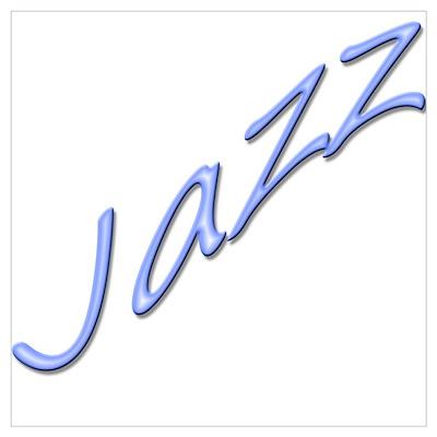 Jazz Dance Design Poster
