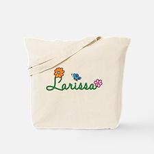 Larissa Flowers Tote Bag