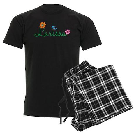 Larissa Flowers Men's Dark Pajamas