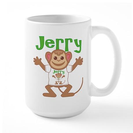 Little Monkey Jerry Large Mug