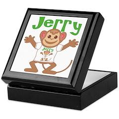 Little Monkey Jerry Keepsake Box