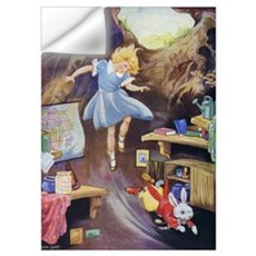 ALICE DOWN THE RABBIT HOLE Wall Decal