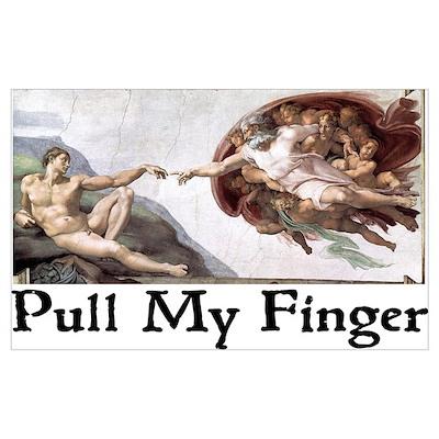 Pull My Finger Poster