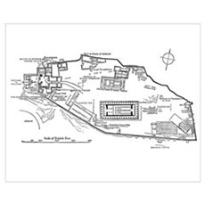 Acropolis Plan Poster