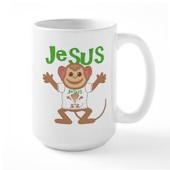 Little Monkey Jesus Mug