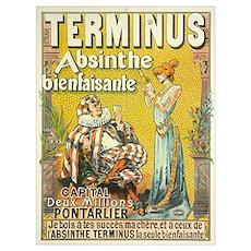 Terminus Absinthe Bienfaisante Poster