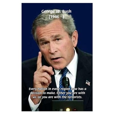 george walker bush soldier or terrorist Office of the judge advocate general of the army  the administration of president george herbert walker bush  by the terrorist.