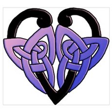 celtic heart 10 Poster