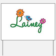 Lainey Flowers Yard Sign
