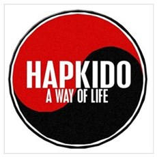 HAPKIDO A Way Of Life Yin Yang Poster