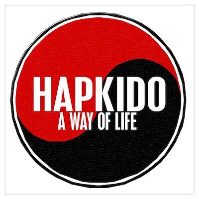 HAPKIDO A Way Of Life Yin Yang Poster